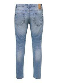 Only & Sons - ONLY & SONS Jeansy Warp Life 22015149 Niebieski Skinny Fit. Kolor: niebieski #5