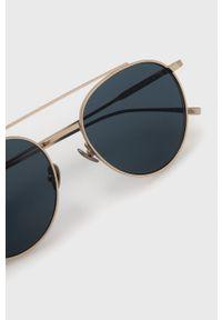 Lacoste - Okulary przeciwsłoneczne. Kolor: złoty