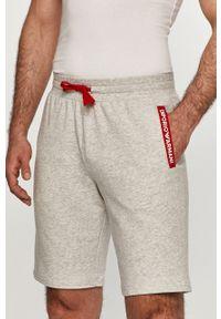 Emporio Armani Underwear - Emporio Armani - Szorty. Okazja: na co dzień. Kolor: szary. Materiał: dzianina. Styl: casual