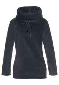Czarny sweter bonprix ze stójką