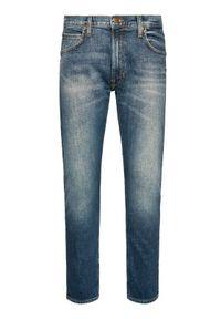 Lee Jeansy Slim Fit Luke L719PLMK Granatowy Slim Fit. Kolor: niebieski. Materiał: jeans