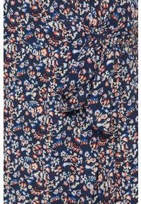 Wielokolorowy kombinezon Pepe Jeans casualowy, krótki, z krótkim rękawem