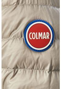 Szara kurtka Colmar na co dzień, casualowa, gładkie, z kapturem