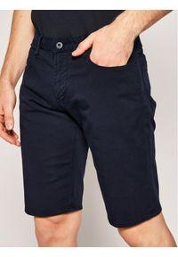 Niebieskie spodenki jeansowe Emporio Armani