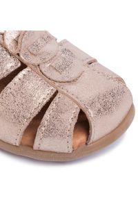 Złote sandały Froddo na lato, na co dzień, z aplikacjami, casualowe #7
