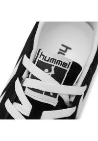 Czarne półbuty Hummel z cholewką, klasyczne