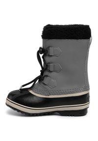 sorel - Śniegowce SOREL - Yoot Pac Tp NY1963 Quarry/Black 052. Okazja: na spacer. Kolor: wielokolorowy, szary, czarny. Materiał: guma, materiał, skóra