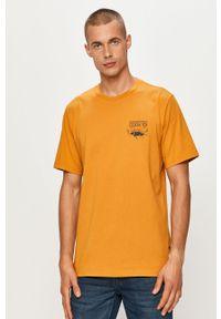 T-shirt Converse casualowy, z okrągłym kołnierzem, z nadrukiem