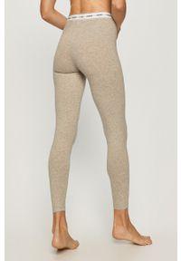 Szara piżama Guess Jeans długa, z nadrukiem