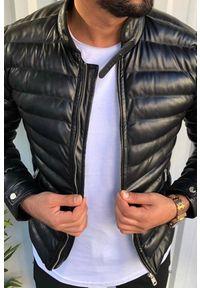Czarny płaszcz IVET klasyczny