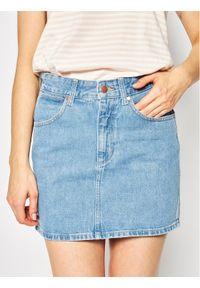 Niebieska spódnica mini Wrangler