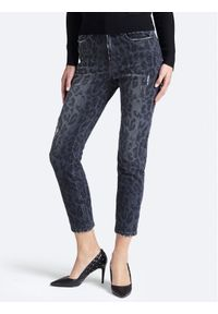 Guess Jeansy The It Girl Skinny W93A35 D3OT0 Szary Regular Fit. Kolor: szary. Materiał: jeans