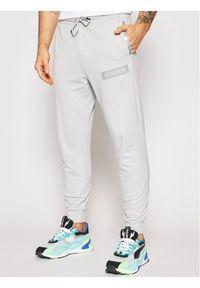 Calvin Klein Performance Spodnie dresowe 00GMS1P636 Szary Regular Fit. Kolor: szary. Materiał: dresówka