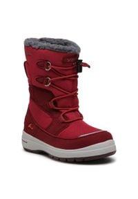 Viking - Śniegowce VIKING - Totak Gtx GORE-TEX 3-86030-5210 Dark Red/Red. Okazja: na spacer. Kolor: czerwony. Materiał: materiał. Szerokość cholewki: normalna. Sezon: zima