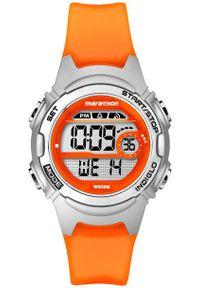 Pomarańczowy zegarek Timex