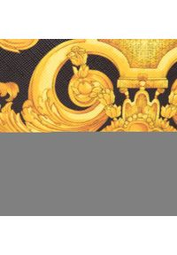 Versace Jeans Couture - Torebka VERSACE JEANS COUTURE - E1VWABM7 71880 M27. Kolor: czarny, wielokolorowy, złoty. Materiał: skórzane