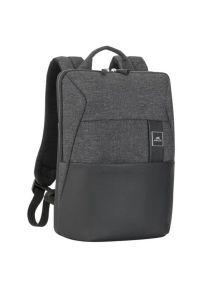Czarny plecak na laptopa RIVACASE biznesowy