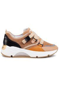 Brązowe buty sportowe Togoshi