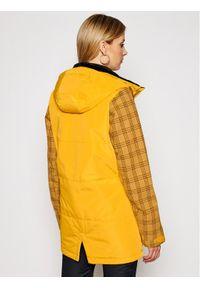 Żółta kurtka zimowa O'Neill