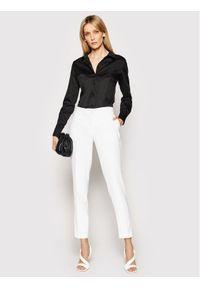 Guess Koszula Cate W1RH41 WAF10 Czarny Slim Fit. Kolor: czarny