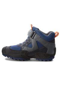 Geox Śniegowce J N. Savage B.B Abx A J841WA 011BC C0002 S Granatowy. Kolor: niebieski