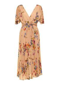 Różowa sukienka wieczorowa Marella