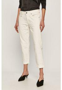 Białe jeansy G-Star RAW
