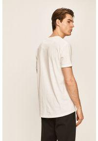 Biały t-shirt Clean Cut Copenhagen casualowy, na co dzień