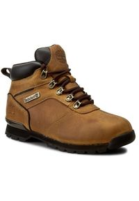 Brązowe buty trekkingowe Timberland