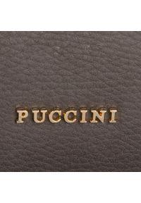 Szara torebka klasyczna Puccini klasyczna