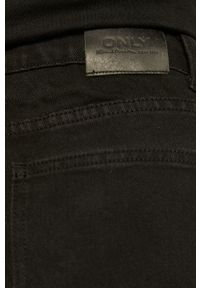 Szare spodnie materiałowe only casualowe, z podwyższonym stanem, na co dzień