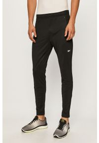 Czarne spodnie dresowe Reebok