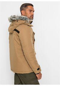 Beżowa kurtka bonprix na zimę