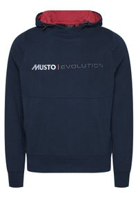 Musto Bluza Evo Logo 82043 Granatowy Regular Fit. Kolor: niebieski #4
