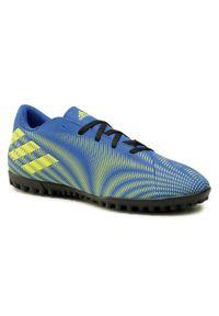 Niebieskie turfy Adidas