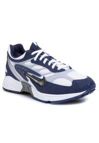 Niebieskie półbuty Nike na co dzień, casualowe, z cholewką