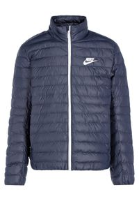 Niebieska kurtka puchowa Nike