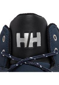 Niebieskie buty trekkingowe Helly Hansen trekkingowe