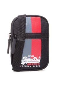 Superdry - Saszetka SUPERDRY - Sport Pouch M9110166A Black 02A. Kolor: czarny. Materiał: materiał
