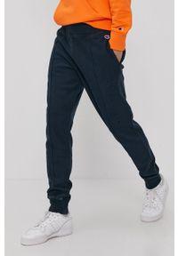 Niebieskie spodnie dresowe Champion gładkie