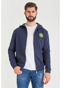 Trussardi Jeans - BLUZA trussardi jeans. Typ kołnierza: kołnierzyk stójkowy, kaptur. Styl: klasyczny