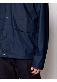 Rains Kurtka przeciwdeszczowa Unisex 1826 Granatowy Regular Fit. Kolor: niebieski #7