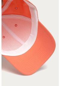 Pomarańczowa czapka z daszkiem Reebok gładkie