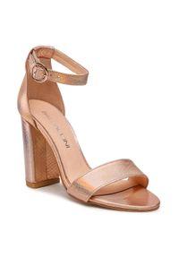 Złote sandały Baldaccini