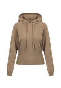 Allude - Kaszmirowy sweter ALLUDE. Materiał: kaszmir. Długość: długie