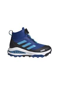 Buty trekkingowe Adidas z cholewką, na zimę, do biegania