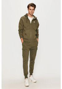 Nike Sportswear - Bluza. Kolor: zielony