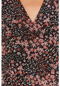 medicine - Medicine - Sukienka Timeless Black. Materiał: tkanina. Długość rękawa: długi rękaw. Typ sukienki: rozkloszowane