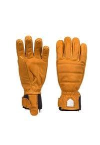 Hestra - Rękawice narciarskie HESTRA ALPINE LEATHER PRIMALOFT. Materiał: neopren, skóra. Technologia: Primaloft. Wzór: motyw zwierzęcy. Sport: narciarstwo