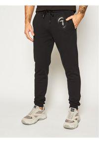 Czarne spodnie dresowe Trussardi Jeans